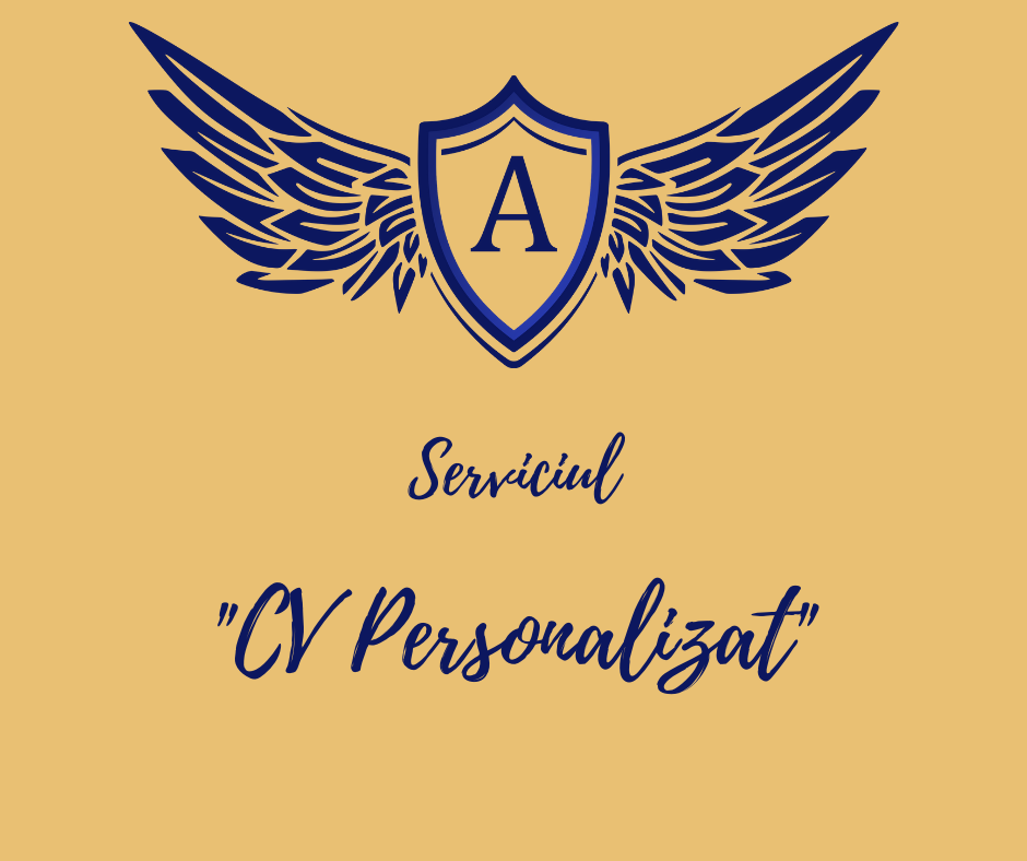 Serviciul CV Personalizat