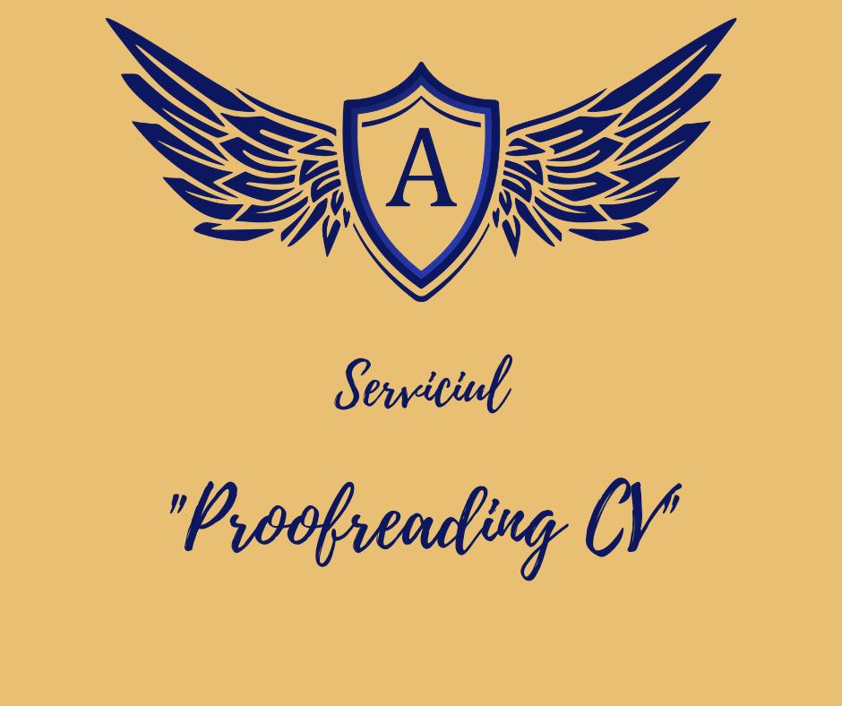 Serviciul Proofreading CV